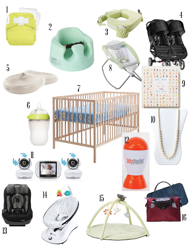 Twin Registry Must Haves